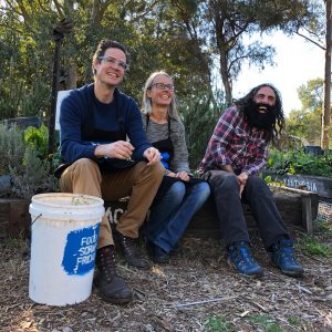 Founders of Food Scrap Friday with Costa from Gardening Australia