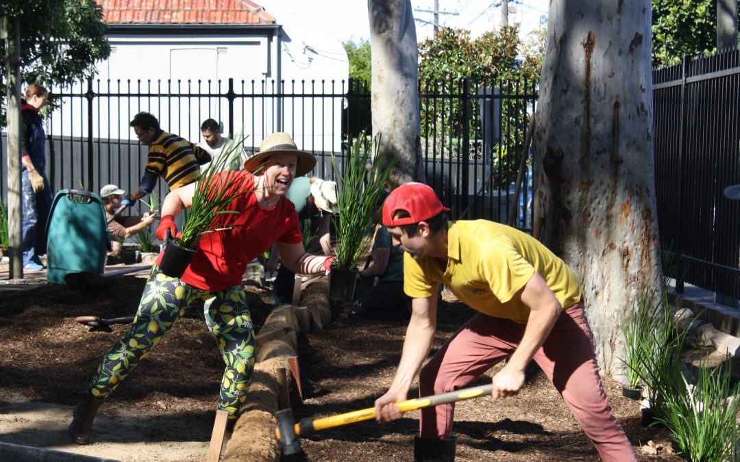 From the ground up – community environmental action